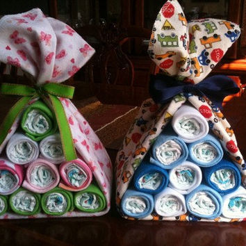 Stork Bundle Baby Shower Gift Or Centerpiece