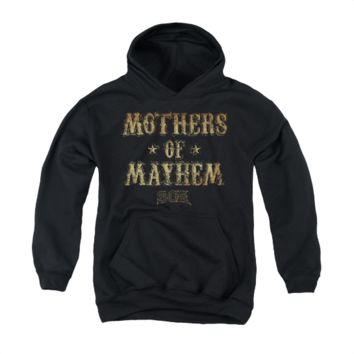 SONS OF ANARCHY MOTHERS OF MAYHEM Youth Fleece Pull Over Hoodie
