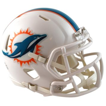 Miami Dolphins Speed Mini Football Helmet