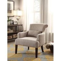 Homelegance Reedley Accent Chair In Light Brown