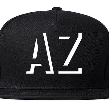 DCK4S2 Kings Of NY Initials Arizona USA State AZ Snapback Hat