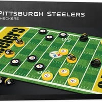 NFL Checkers Game - Pittsburgh Steelers