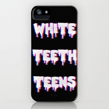 White Teeth Teens iPhone & iPod Case by Marvin Fly