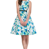 Polka Dot Women Vintage Retro 50s 60s Sexy Party Dress