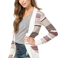 Mixing Stripes Cardigan