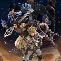 Kingdom Hearts: Birth by Sleep Video Game Poster 18x24