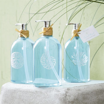 "Two's Company Coral Reef ""Freshwater Scent"" Hand Soap Trio (Set of 3)"