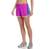 Champion Women's Flex Short, Paradise Embossed/Reef Blue/White, Small
