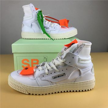 OFF-WHITE CO VIRGIL ABLOH 18SS White Size 36-44