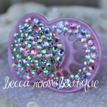 Baby Bling Pacifier Rhinestone Pacifier Dummy