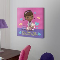 Disney Doc McStuffins Ouchies 18'' x 18'' Canvas Wall Art