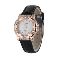 jeansian Women's Wrist Watch Fashion Pu Faux Leather Band ZWC062