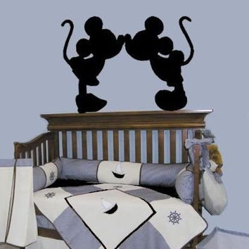 Mickey Mouse Minnie Mouse Decals Wall Art Decal Disney Character Part 83