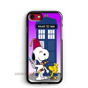 Snoopy tardis doctor who iPhone cases Snoopy samsung case iPhone X cases