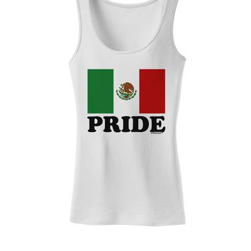 Mexican Pride - Mexican Flag Womens Tank Top by TooLoud