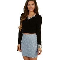 Sale-black Everyday Cropped Sweater