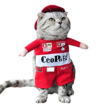 Pet cat cosplay clothes Police / pirate / racing / nurse style pet cat dress High quality pet clothes A20