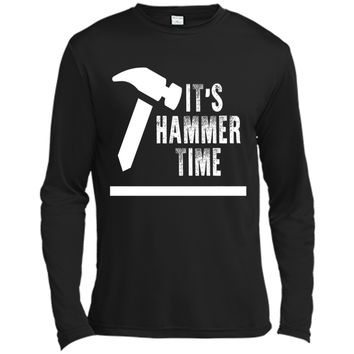 Funny Its Hammer Time Carpenter T-shirt Fathers Day Gift