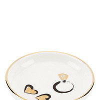 Kate Spade Daisy Place Ring Dish White ONE