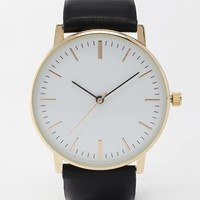 ASOS Premium Clean Leather Strap Watch