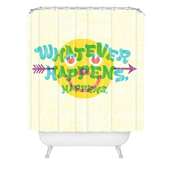 Nick Nelson Whatever Happens Shower Curtain