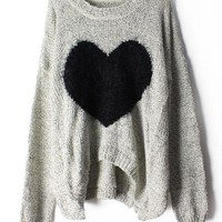 Heart Mohair Sweater JCFDG from Eternal