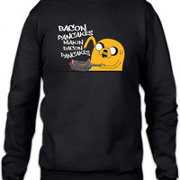 bacon pancakes Crewneck Sweatshirt