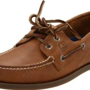 Sperry Top-Sider Men's A/O 2 Eye Boat Shoe,Ice,10.5 M US