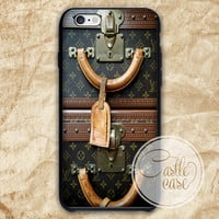 cover louis vuitton vintage luggage iPhone 4/4S, 5/5S, 5C Series, Samsung Galaxy S3, Samsung Galaxy S4, Samsung Galaxy S5 - Hard Plastic, Rubber Case