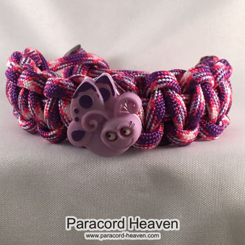 Missy the Butterfly - Children Paracord Heaven Survival Bracelet with Knot Closure