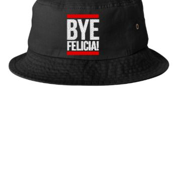 BYE FELICIA embroidery hat - Bucket Hat
