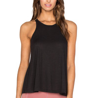 Free People Long Beach Tank in Black