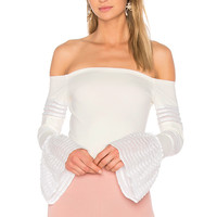 Alexis Gryffin Top in White