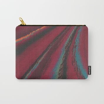 Cozy Sweater - glitch- Carry-All Pouch by DuckyB