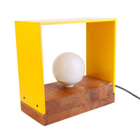 solid wood lamp ramma by nordarchitectdesign on Etsy