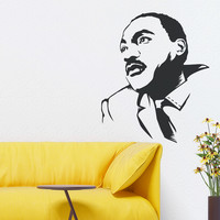 Martin Luther King Jr. Wall Decal