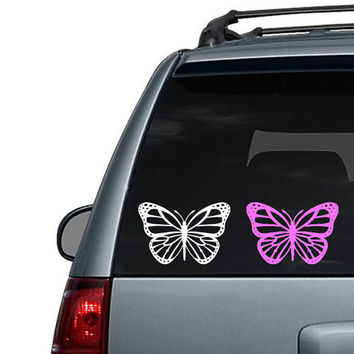 Monarch Butterfly - Car Decal or Computer Decal
