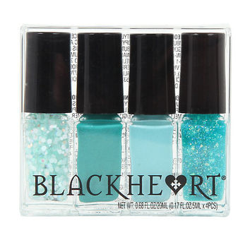 Blackheart Beauty Mini Mermaid Nail Polish Set
