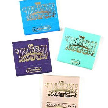 Incense Matches - Fresh & Floral (Pack of 4)