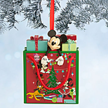 Mickey Mouse Disney Store Bag Ornament