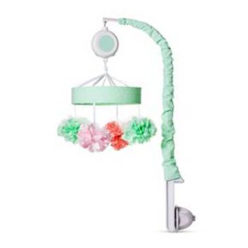 Crib Mobile Pom Pom - Cloud Island™ - Mint