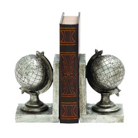 Exclusive Globe Classic Bookend