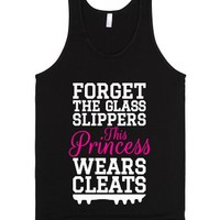 Forget the Glass Slippers This Princess Wears Cleats (White Pink Ar...