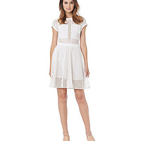 Sam Edelman A-Line Dress - Bright White