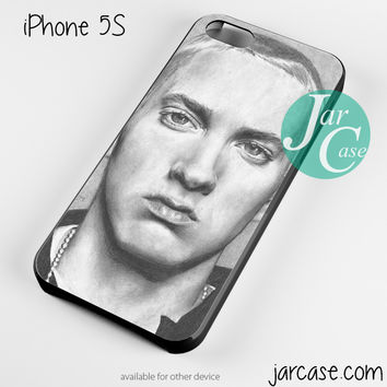 Eminem Face Sketch Phone case for iPhone 4/4s/5/5c/5s/6/6 plus