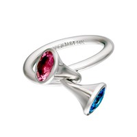 TWO SAPPHIRES RING