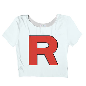 Team Rocket Crop Top