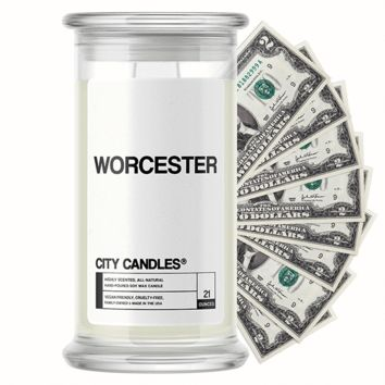 Worcester City Cash Candle®