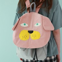 Tyakasha Dog Pink Dog Backpack