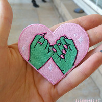 PINKY SWEAR ♥ patch from ♥ SUGARBONES ♥